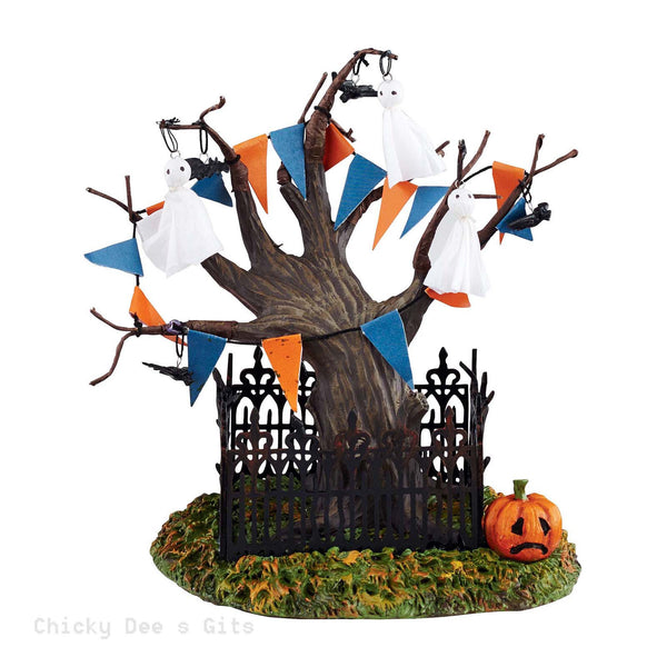 Halloween Village Halloween Town Tree 2015 Department 56 4044893 NIB - Chicky Dee's Gifts