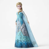 Jim Shore Disney Traditions Elsa with Castle Dress 4046035 Frozen 2015 - Chicky Dee's Gifts - 1