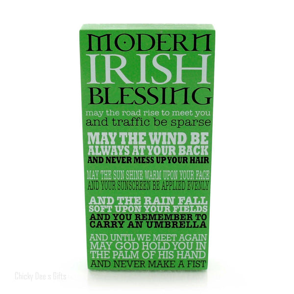 Our Name Is Mud Irish Blessing Plaque Sign 4050750 - Chicky Dee's Gifts - 1