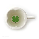 Our Name Is Mud Shamrock Tea Cup 6 Oz Irish Coffee Mug 4050751 - Chicky Dee's Gifts - 3