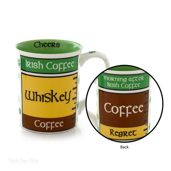 Our Name Is Mud Irish Coffee 16 oz Mug Tea Cup 4050752 - Chicky Dee's Gifts - 1