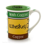 Our Name Is Mud Irish Coffee 16 oz Mug Tea Cup 4050752 - Chicky Dee's Gifts - 2