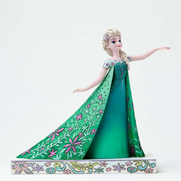Jim Shore Disney Traditions Frozen Fever Elsa 4050881 - Chicky Dee's Gifts - 1