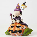 Jim Shore Peanuts Collection Wizard Snoopy and Woodstock Halloween 4052724 - Chicky Dee's Gifts - 2