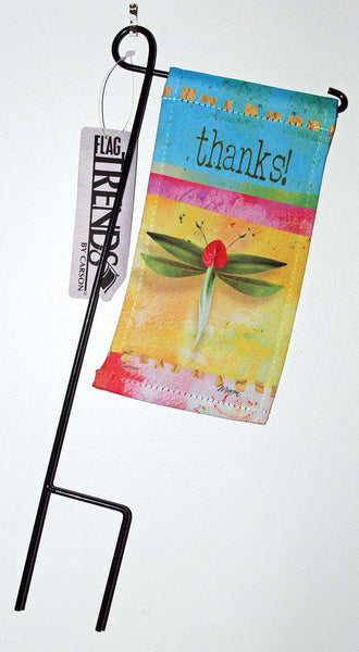 Carson FlagTrends Mini Flag Thanks Dragonfly Mother's Day - Chicky Dee's Gifts