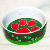 GOOD DOG Paw Bowl 6 in. green  Clearance - Chicky Dee's Gifts - 2