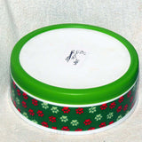 GOOD DOG Paw Bowl 6 in. green  Clearance - Chicky Dee's Gifts - 3