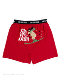 Hatley Men s Boxers Ski Bum Novelty Underwear Moose - Chicky Dee's Gifts - 1