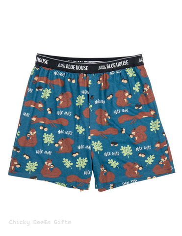 Hatley Men s Boxers Nice Nuts Novelty Underwear Father's Day - Chicky Dee's Gifts - 1