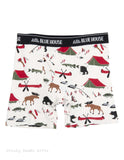 Hatley Men s Boxers Briefs Gone Camping Father's Day Novelty Underwear - Chicky Dee's Gifts - 1