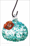Evergreen Hummingbird Feeder Artistic Glass 2HF160 - Chicky Dee's Gifts - 2
