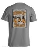 Live Oak Brand Hanging Out Down South Bluetick Hounds  Unisex Pocket Tee Shirt T-Shirt - Chicky Dee's Gifts - 1