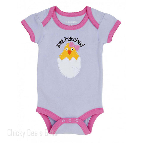 Hatley Infant One Piece Just Hatched Baby Girl  onesie - Chicky Dee's Gifts - 1
