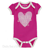 Hatley Infant One Piece Daddy's Girl baby onesie - Chicky Dee's Gifts - 1