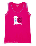 Hatley Women s PJ Tank Top Cute Pups Mother's Day Dog Tired - Chicky Dee's Gifts - 1
