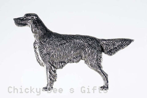 Grillie Irish Setter Grille Ornament for Car Truck grill grillies hood - Chicky Dee's Gifts - 1