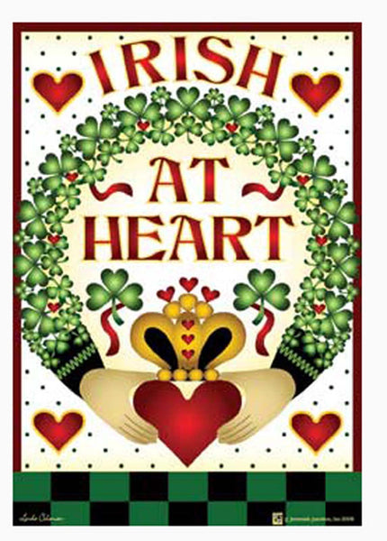 Jeremiah Junction Magnet Irish at Heart St. Patrick's - Chicky Dee's Gifts