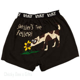 LazyOne Comical Boxer Smellers the Feller Dog Novelty Underwear - Chicky Dee's Gifts - 1