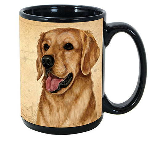 Pet Gifts USA Golden Retriever My Faithful Friend 15 oz Mug