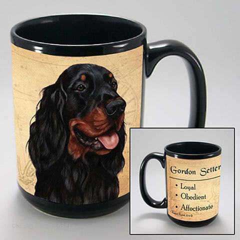 Pet Gifts USA Gordon Setter My Faithful Friend 15 oz Mug - Chicky Dee's Gifts