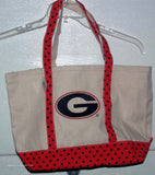 Georgia Bulldogs  UGA DAWGS Tote Shopping Grocery reusable bag - Chicky Dee's Gifts - 2