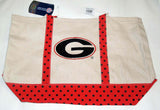 Georgia Bulldogs  UGA DAWGS Tote Shopping Grocery reusable bag - Chicky Dee's Gifts - 3