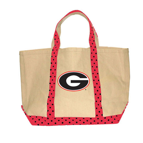 Georgia Bulldogs  UGA DAWGS Tote Shopping Grocery reusable bag - Chicky Dee's Gifts - 1