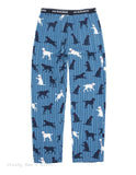 Hatley Men s Jersey Pajama Pants LABS ON TICKING PJ sleep Novelty Father's Day
