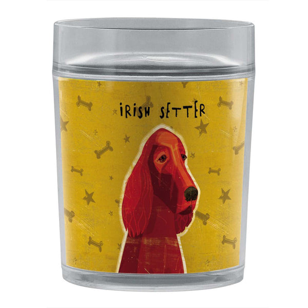 Tree-Free Greetings Irish Setter 14 oz Resort Tumbler Artwork by John W. Golden