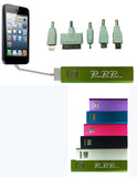 2600 mAH USB Portable Cell Phone Battery Charger w 5 power tips BTU100 - Chicky Dee's Gifts - 11