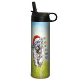 Tree-Free Greetings Happy Puppy 17 oz Sportiva Tumbler w Straw