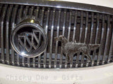 Grillie Irish Setter Grille Ornament for Car Truck grill grillies hood - Chicky Dee's Gifts - 2
