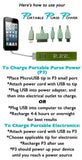 2600 mAH USB Portable Cell Phone Battery Charger w 5 power tips BTU100 - Chicky Dee's Gifts - 3