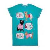 Hatley Women s ONE SIZE Sleepshirt BITCH, BITCH, BITCH night shirt PJ Pajamas - Chicky Dee's Gifts - 1