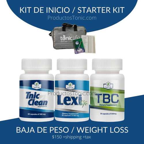 Kit de Inscripcion Tonic Life Baja de Peso