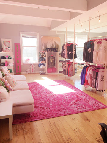 Pink social girl tribe shop in Charlotte, NC
