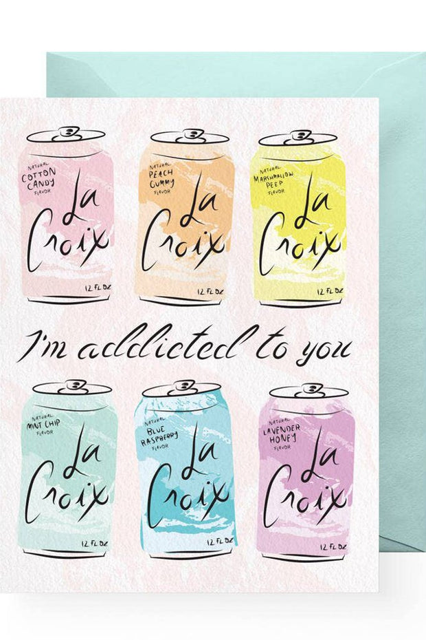 Accessories - Addicted To You Card