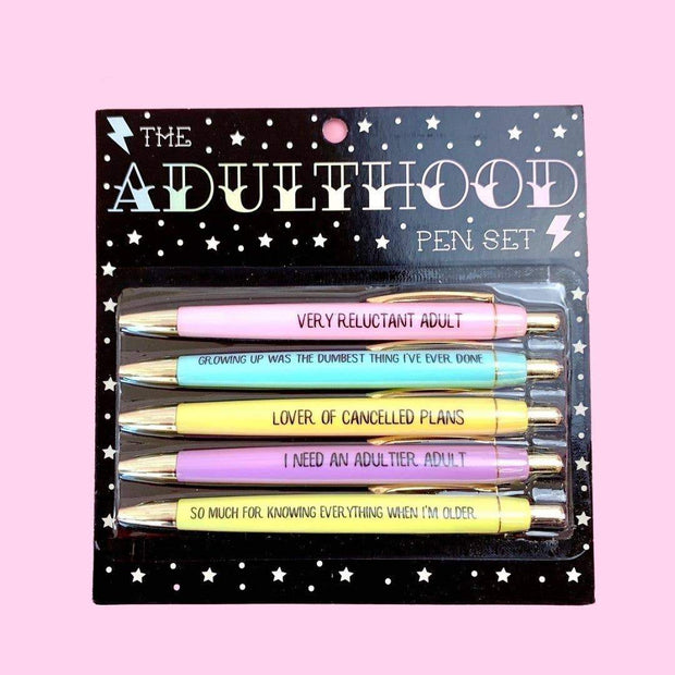 Accessories - Adulthood Pen Set