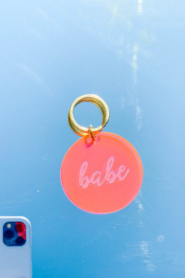 Accessories - Babe Pink Keychain