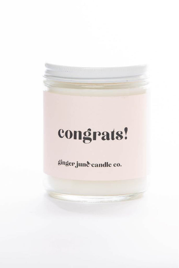Accessories - Congrats! Candle