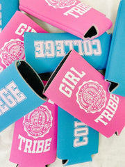 Accessories - Girl Tribe University Slim Koozie