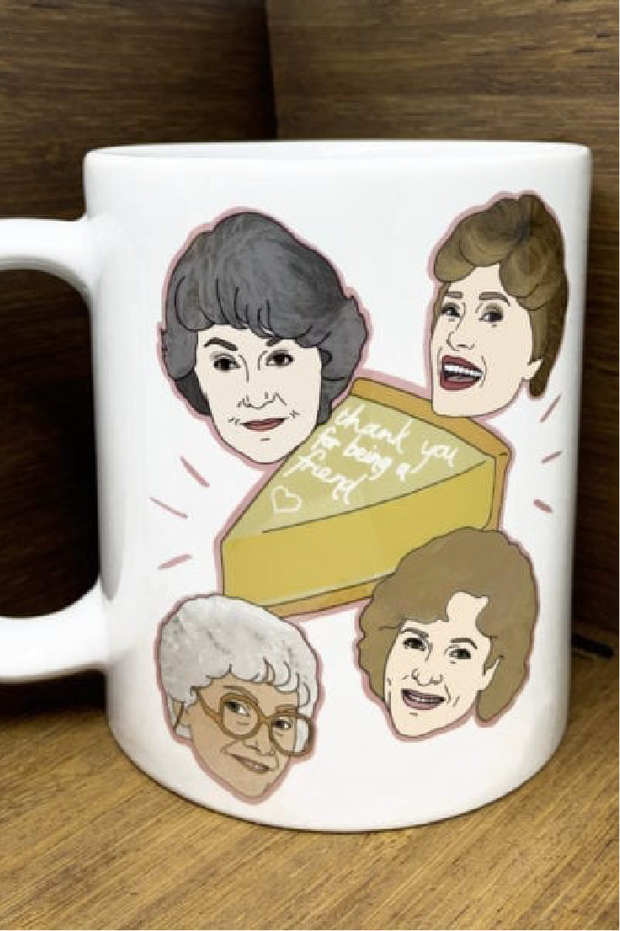 Accessories - Golden Girls Mug By Citizen Ruth