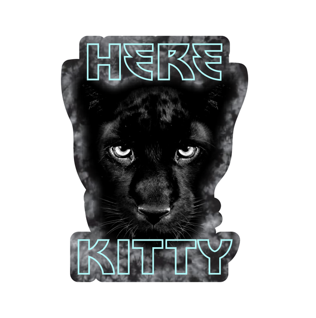 Accessories - Here Kitty Sticker