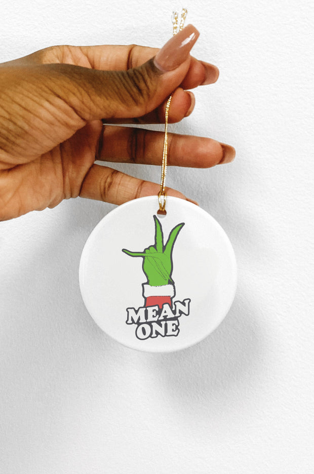 Accessories - Mean One Grinch Ornament