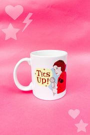 "Accessories - Mrs. Maisel ""Tits Up"" Mug By Citizen Ruth"