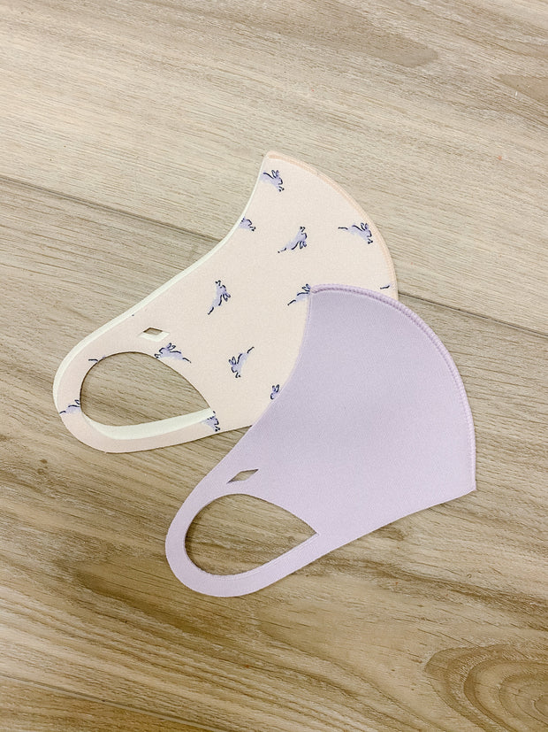 Accessories - Pink Bunny Kids Lightweight Mask