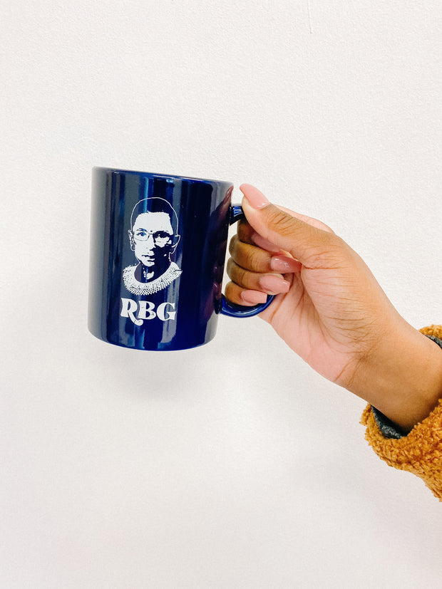 Accessories - RBG Mug In Navy