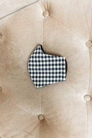 Accessories - Sandy Navy Check Face Mask