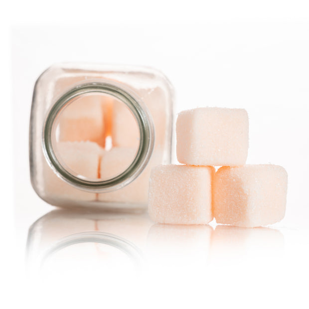 Beauty - Peach Exfoliating Sugar Cubes 9.5 Oz