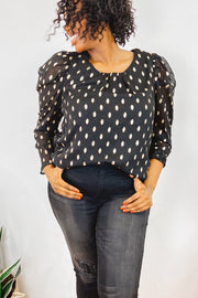 Blouse - The Ali Top - Worthy Figures Collection